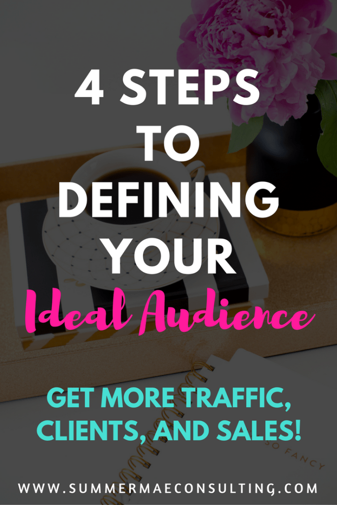 Defining Your Ideal Audience for More Traffic, Clients, and Sales!
