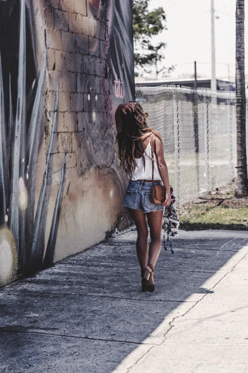 Summer of Diane Miami Blogger Boho Beach Style White and Denim