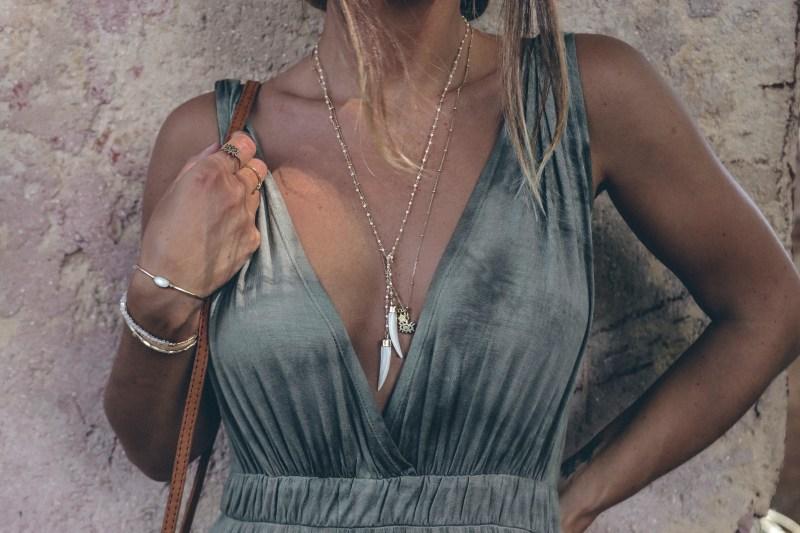 Summer of Diane Boho Blogger Fall Green Styling