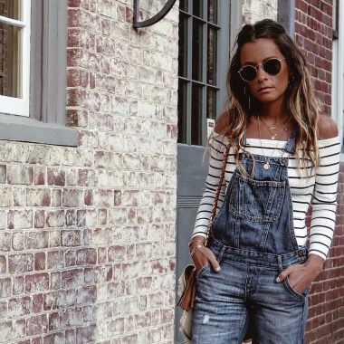 Summer of Diane Boho Style Blogger Overalls Fall Fashion