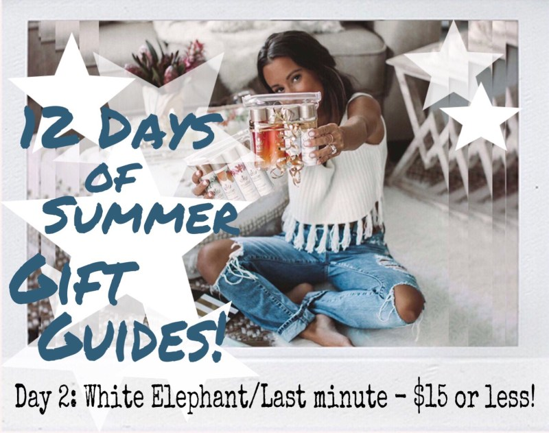 Summer of Diane 12 Days of Summer Holiday Gift Guides