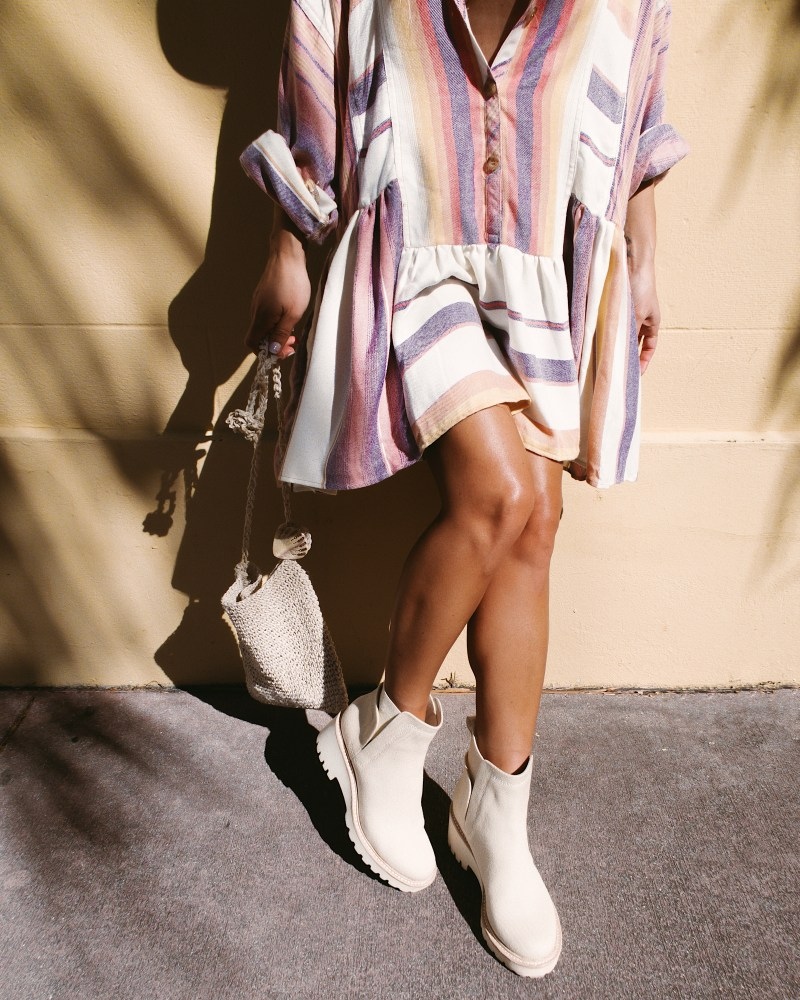 SOD X Free Poeple - Desert Sunset Shirt Dress