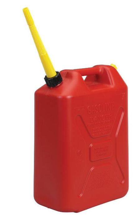 Military Gas Can in Case of Thundersnow