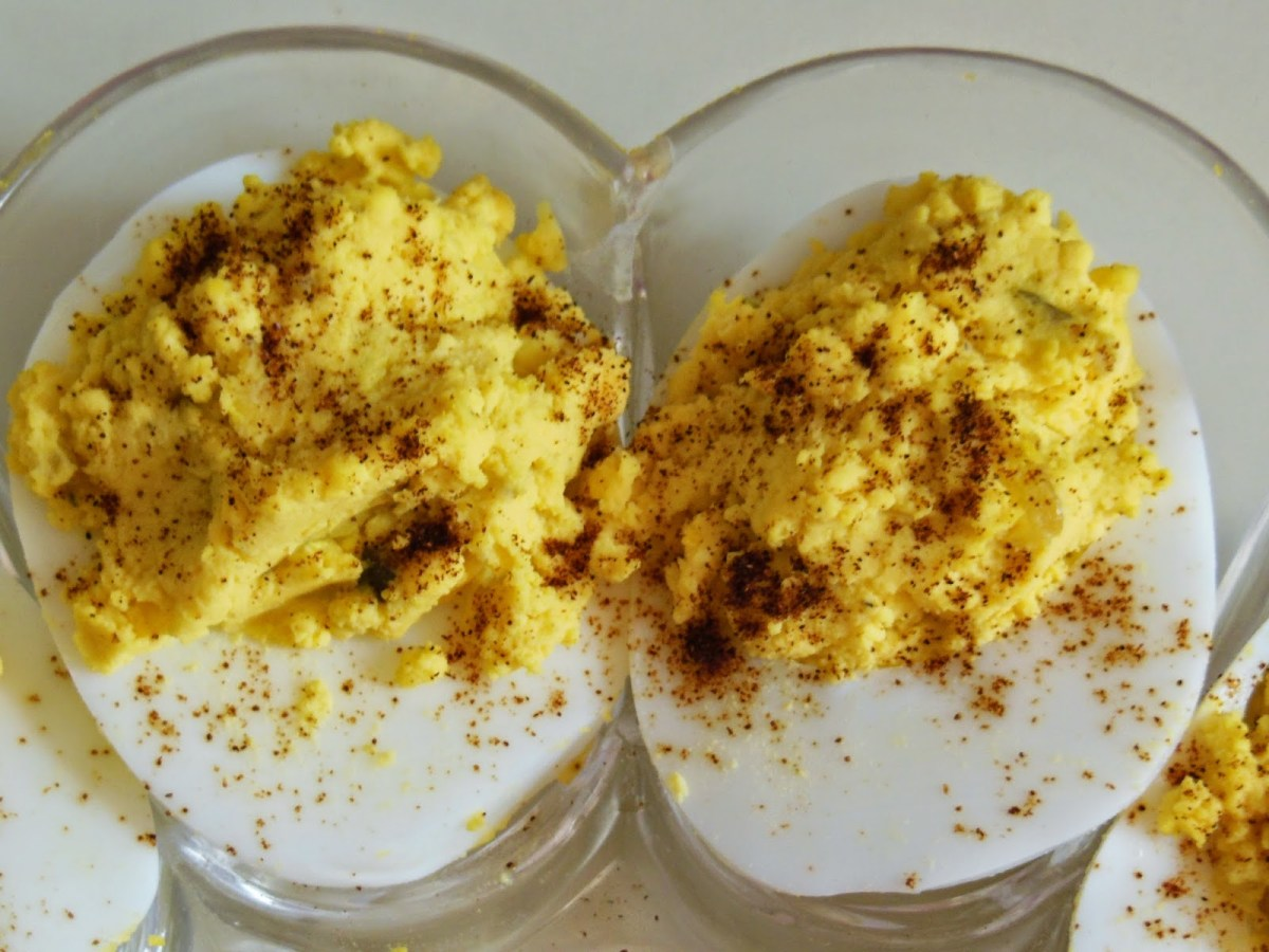 How to Make Deviled Eggs Southern Style