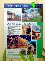 Restoring the vision - what did it take to rebuild the Pavilions?