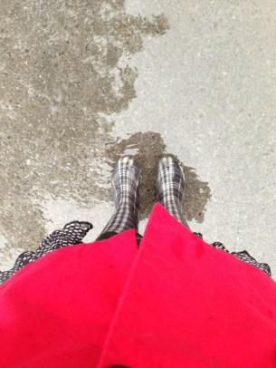 Singing and dancing in the rain