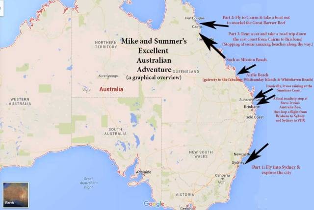 Excellent Australian Adventure