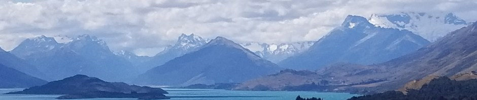 Lake Wakatipu near Glenorcy, New Zealand