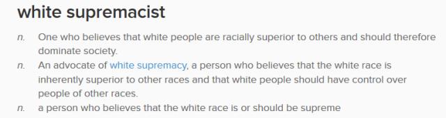White Supremist