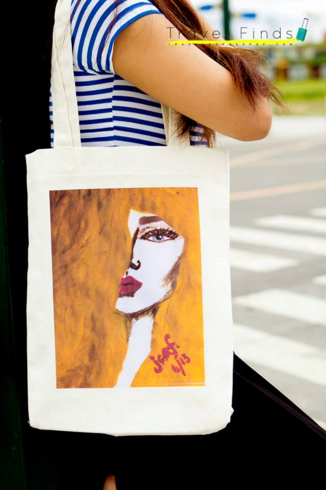 [Jamie Fournier x Travel Finds] Portraits of Women on Canvas Bags: Chaos
