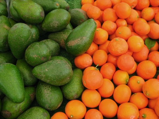 Avocados and Clementines