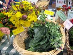 Kale & Flowers