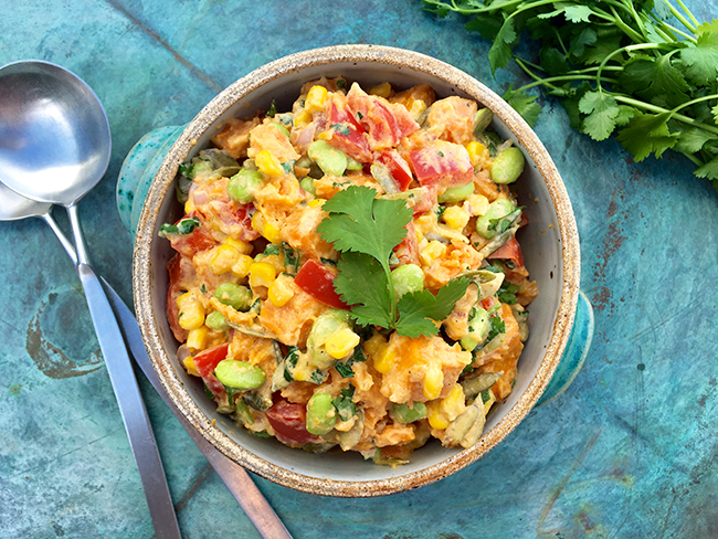 Sweet Potato Succotash