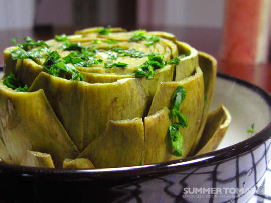 Perfect Steamed Artichoke
