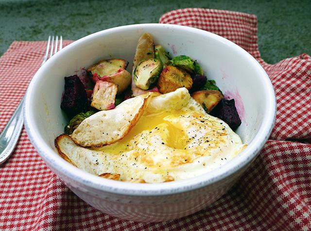 veggies for breakfast