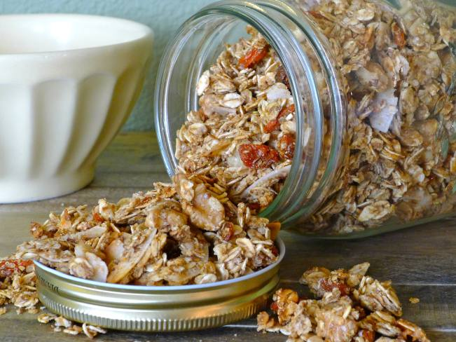 Nutty Sunrise Granola