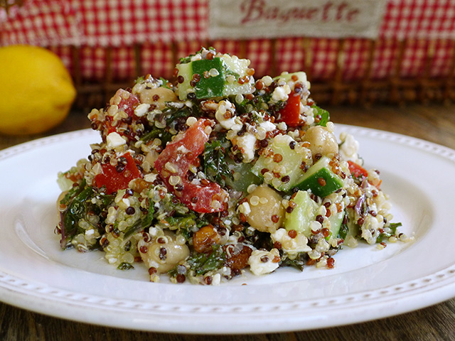 Quinoa Salad Kopecky Summer Tomato sm