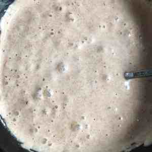 Small cut loaf of sourdough bread