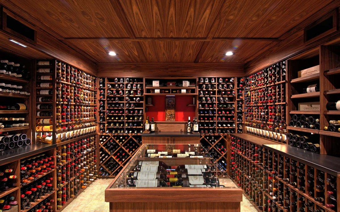 Traditional Wine Cellar – Weston, CT