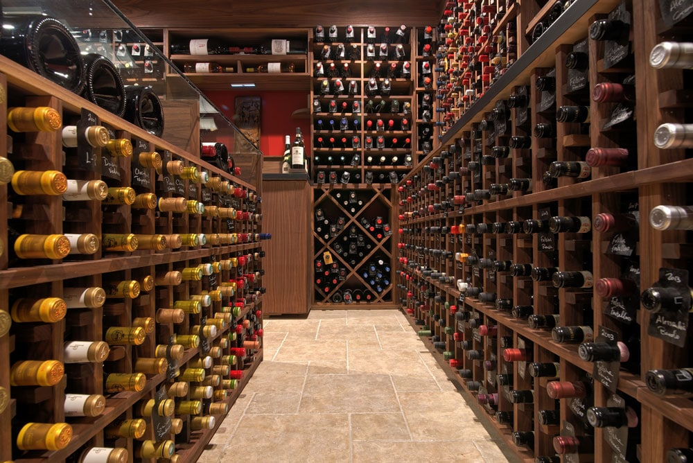 New Wine Cellar in Weston, CT
