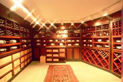 Cape Cod lacquered cellar