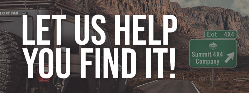 Let Us Help You Find It!
