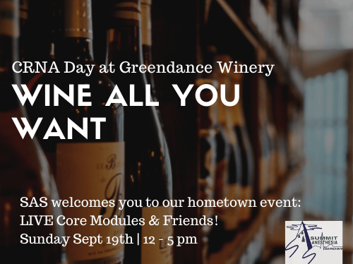 CRNA Day at Greendance Winery