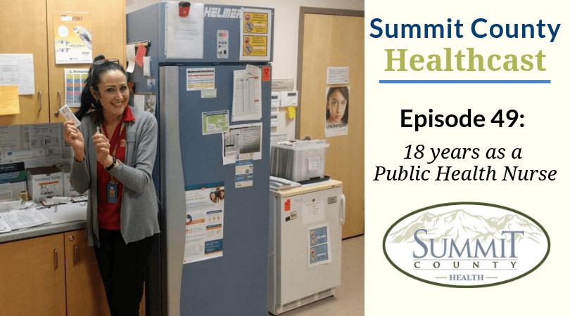 Public Health Nurse Lynn Little - Podcast Cover