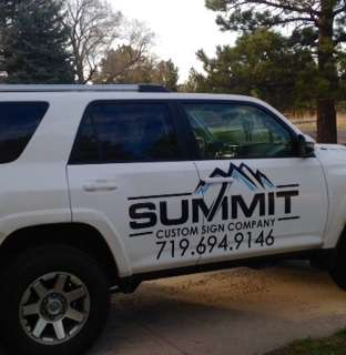 15 forerunner logo - Vehicle Wraps near Denver