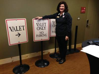 gw valet signs - Common signage design mistakes to avoid