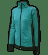 women's fitted jacket, power stretch fleece