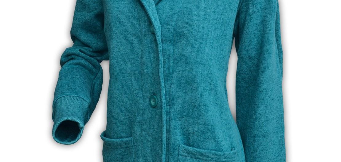 summit edge brand unisex womens north shore button cardigan jacket sage green pockets