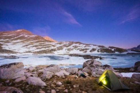 Shot with my new a6000.  Brown Bear Lake, Bear Lakes Basin. 10mm, f4.5, 2s
