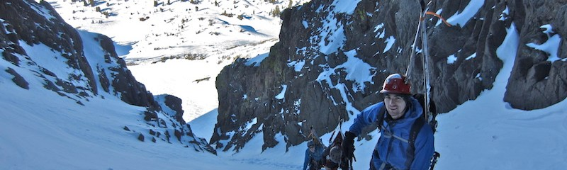 Crescent Couloir- Early Season Climb