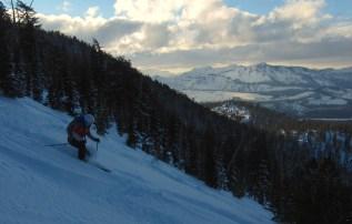 Vistas of Desolation Wilderness while descending the Elevens