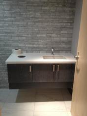 Bathroom Vanity - Solid Oak Doors with