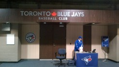 Blue Jays Locker Room