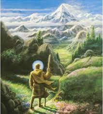 a chela walking the spiritual path