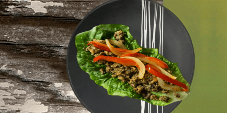 Lentil Walnut Tacos in Lettuce Wraps