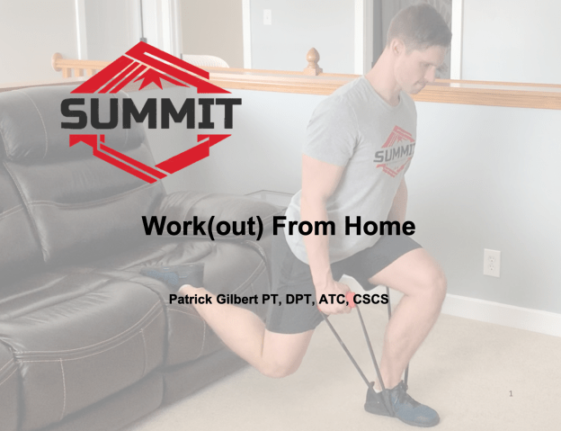 Work(out) From Home