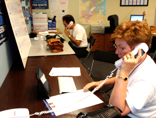 Take action through joining an SCPD phone bank