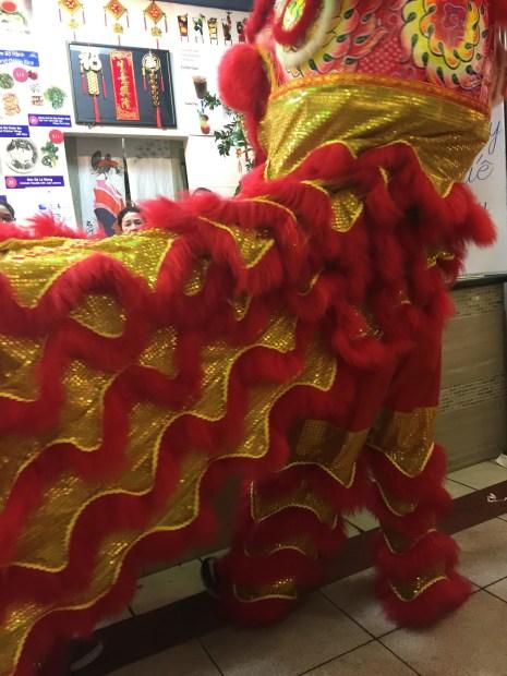 2. Lion Dance