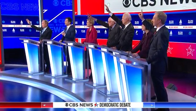 CBS News Democratic Debate From South Carolina