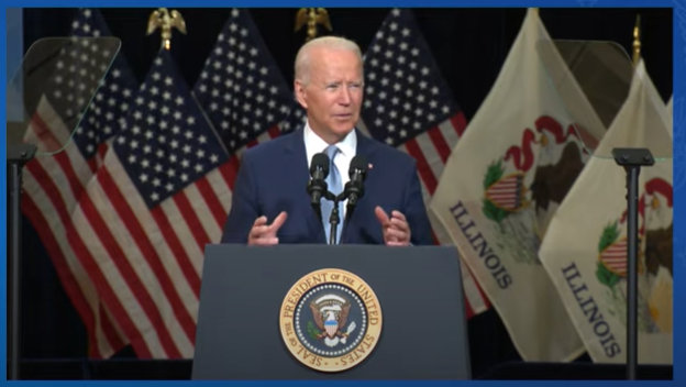 President Biden on the Benefits of the Build Back Better Agenda for Working Families