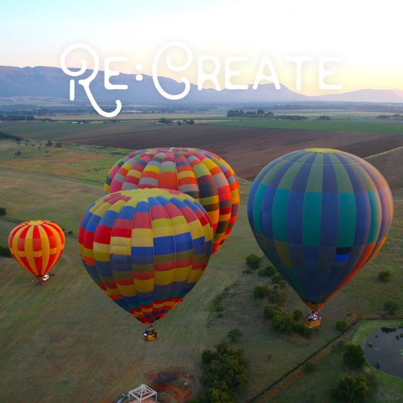 mountain hot air balloons