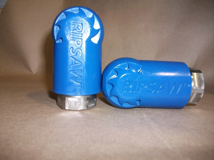 Ripsaw Nozzle-#12 HD Ripsaw