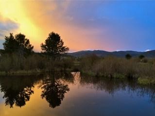 Evening serenity.