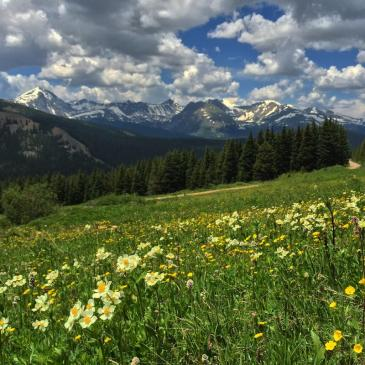 Boreas Pass, near Breckenridge, Colorado.