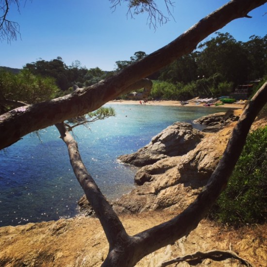 Porquerolles beach time.