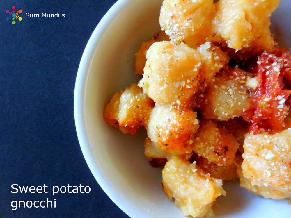 Sweet Potato Gnocchi (vegan & gluten free)